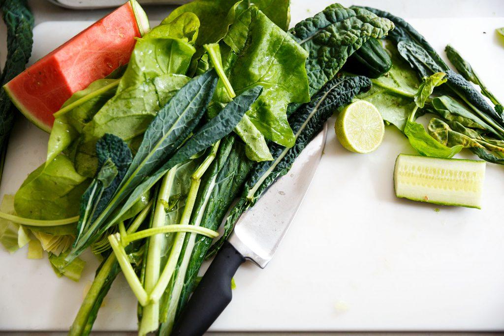 groente voor sapvasten