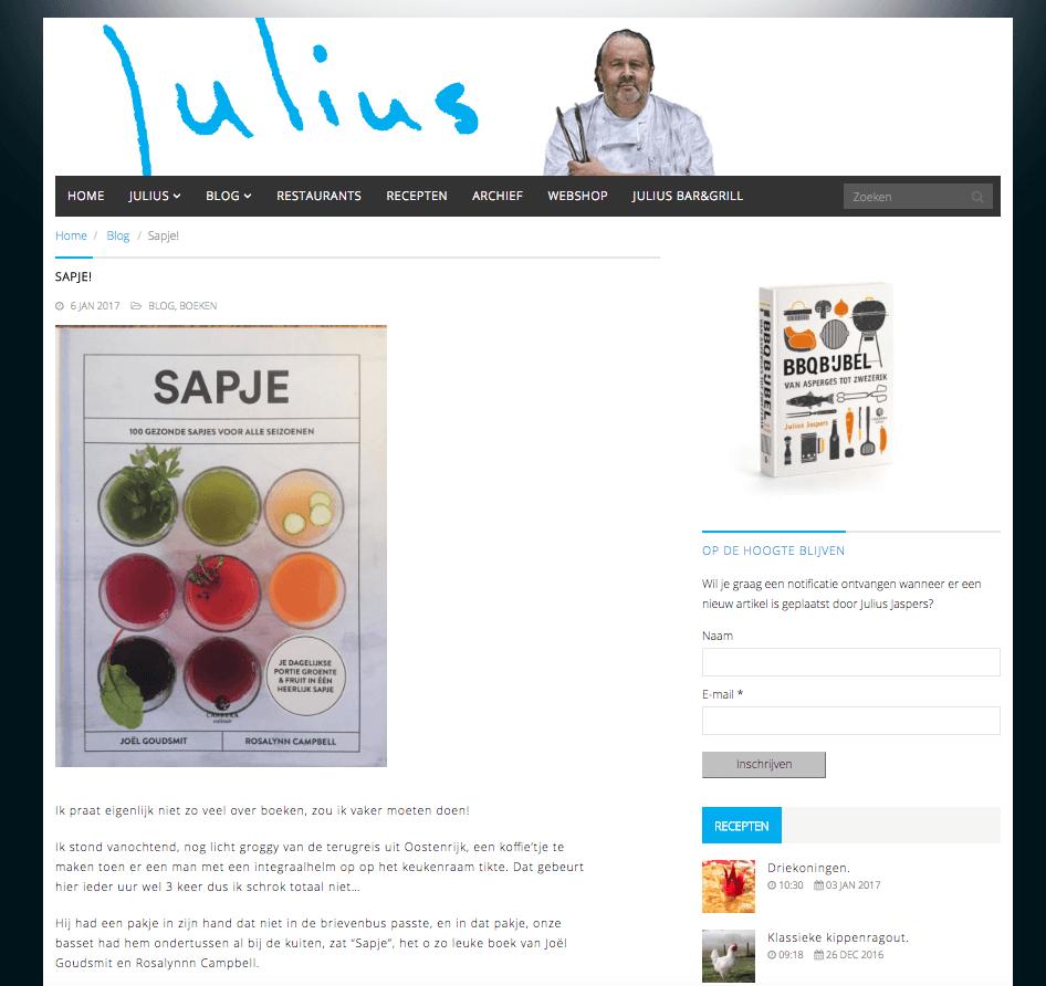 julius-jaspers-Sapje-boek-6-januari-2017