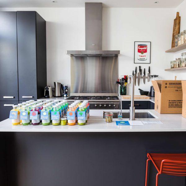 Detox kuur 5 dagen in keuken