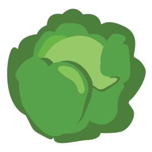 groene kool icoon