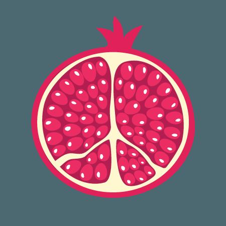 granaatappel icoon
