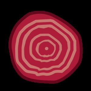 rode biet icoon