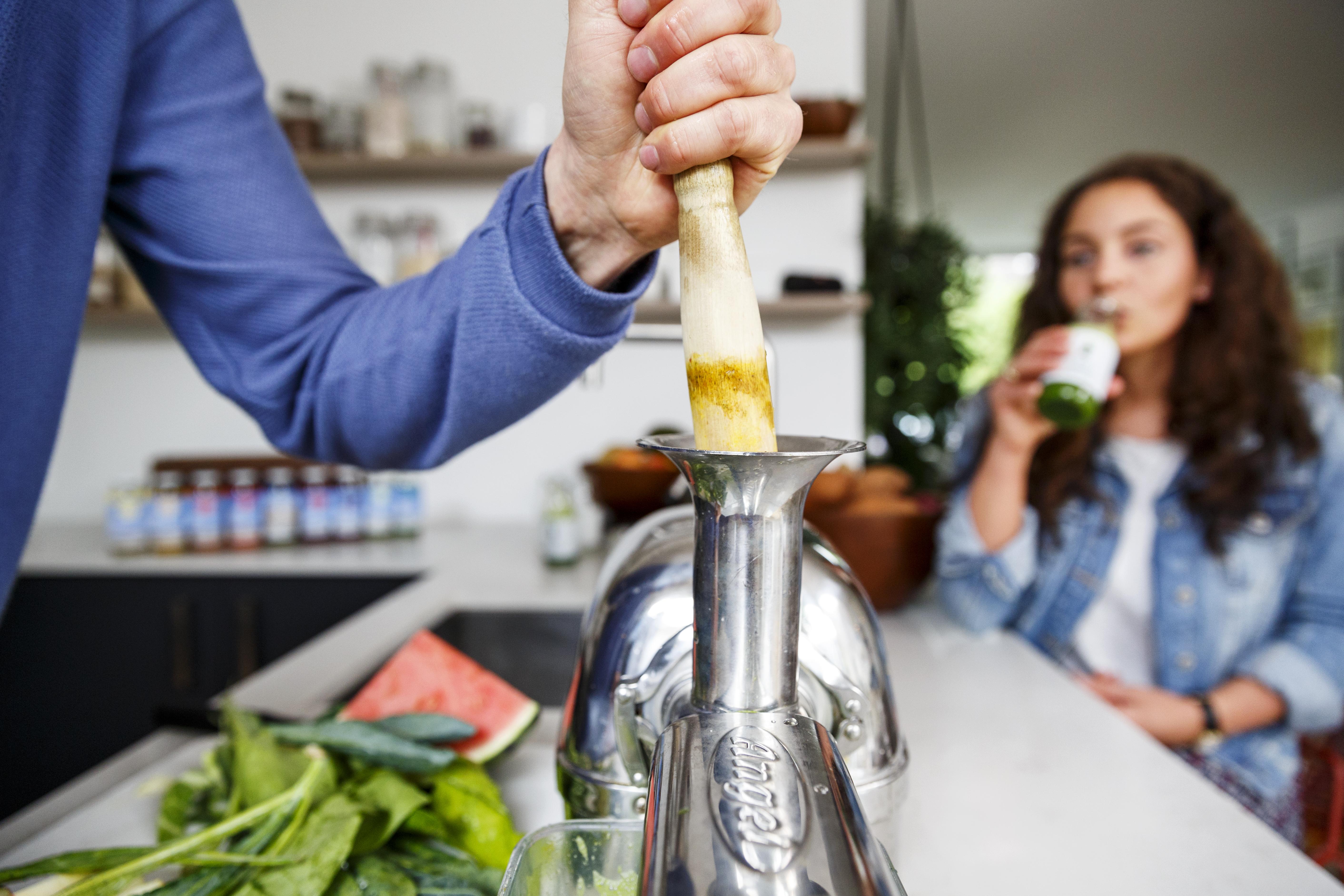 groentesap slowjuicen