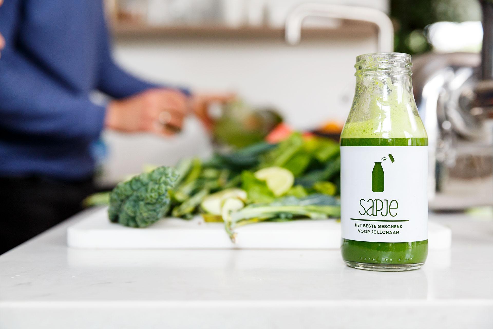 gezond afvallen met groentesap