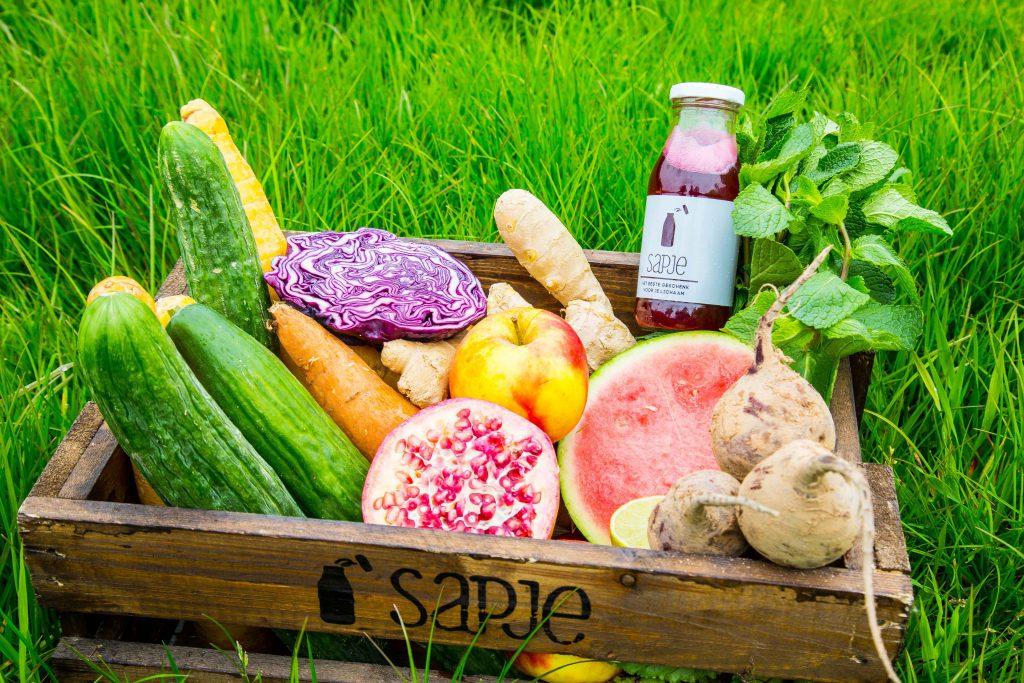 gezonde ingredienten juglen zwaan sapje