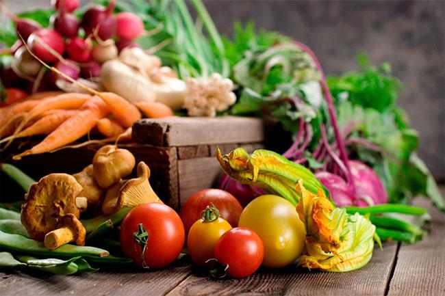 diverse groente