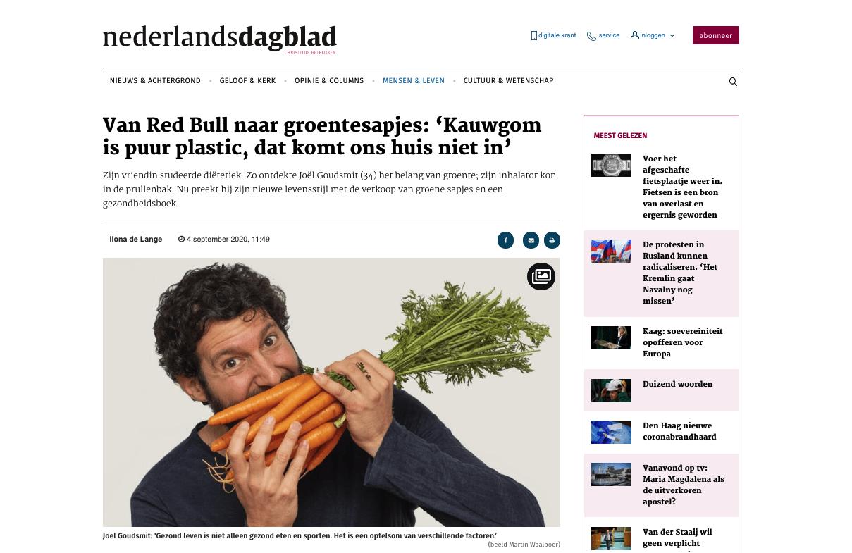 sapje nederlands dagblad