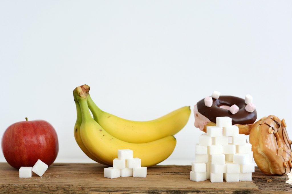 suiker in appel