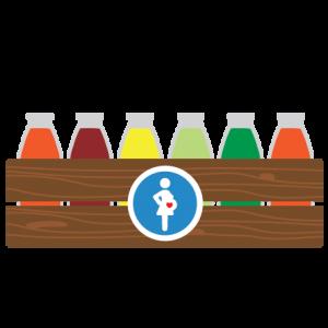 zwangerschapsbox icoon