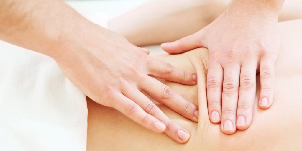 lymfeklieren massage